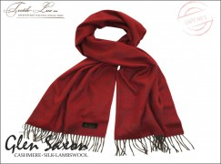 Кашемировый шарф Paisley 036 regal red